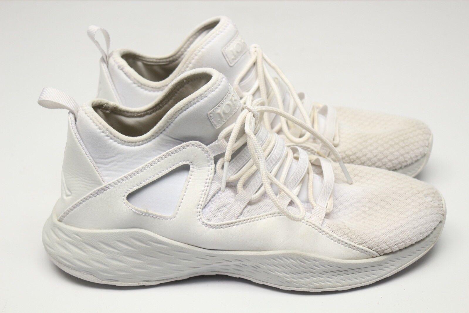Jordan Formel 23 Dekonstruiert Herren Sneakers 8.5 Weiß/Weiß Dekonstruiert 23 Leder Strick Zeh 7f2dcf