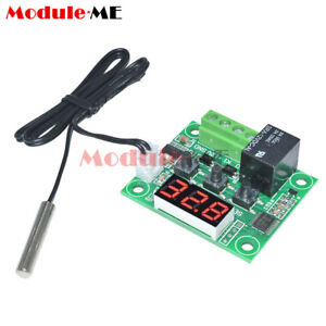 50-110-C-12V-Red-W1209-Digital-Thermostat-Temperature-Control-Switch-Sensor