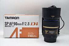 Tamron 90mm F/2.8 SP AF Di Macro Prime Lens (with motor) - Nikon mount