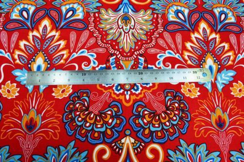 LF811a Bleu Sarcelle Rouge Jaune Vert Bleu Ciel en toile coton Housse de coussin//oreiller couverture