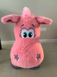 Large-pink-unicorn-toy-from-Sydney-Luna-Park-New-hard-to-get