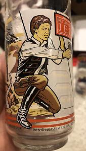 Vintage 1983 Return of the Jedi Burger King Han Solo Glass