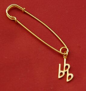 3-Flat-Eb-Music-Note-Gold-Pin-Badge-New