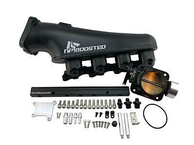 Aluminum Air Intake Manifold Plenum fits 95-98 Nissan SR20 SR20DE 240SX S14 S15