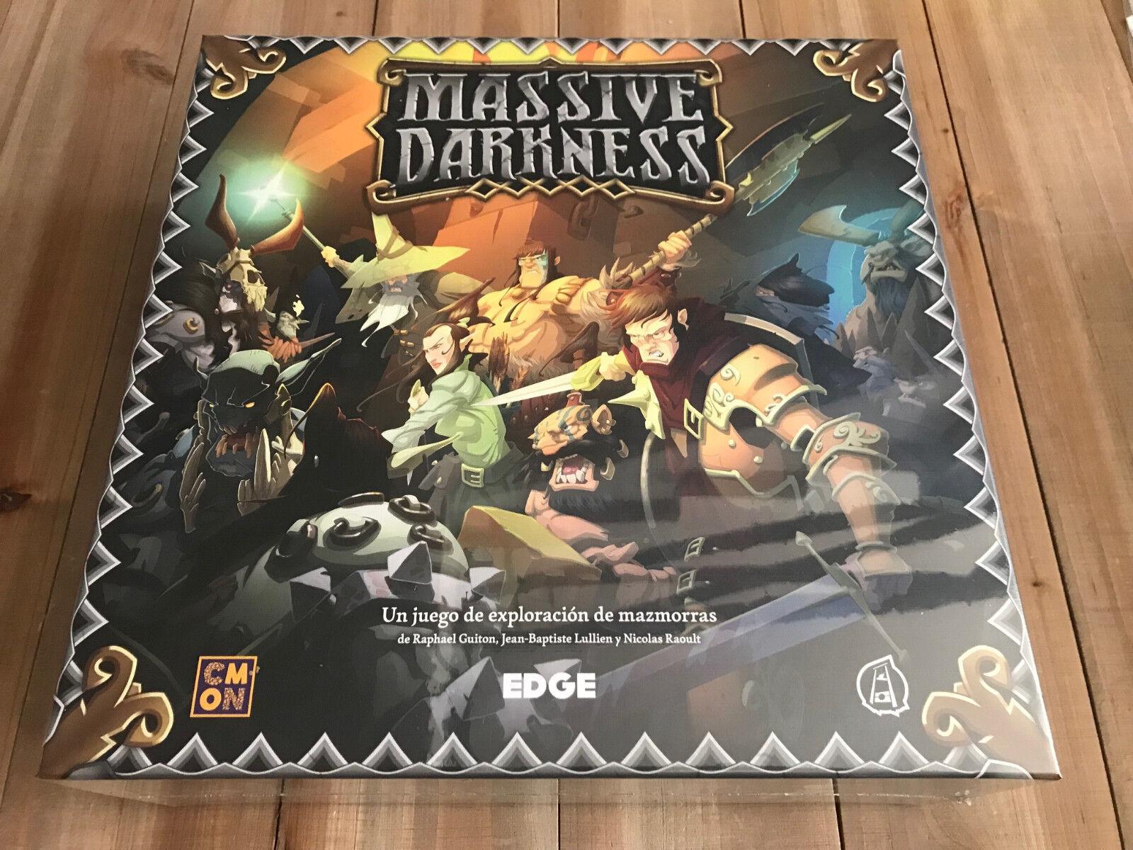 Jeu de Table - Massive  Darkness - Edge - Cmon - Scellé - Jeu de Tableau  service honnête