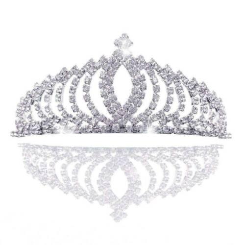 Bridal Bridesmaid Wedding Prom Crystal Rhinestone Tiara Crown Headband Gifts