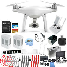 DJI Phantom 4 Drone W/ 4K Camera MEGA 2 BATTERY EVERYTHING YOU NEED BUNDLE! NEW!