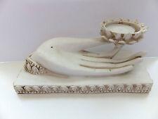 Buddha - Buddhas Hand als Räucherstäbchenhalter für Räucherstäbchen und Teelicht