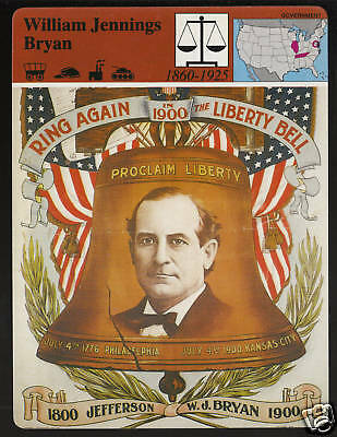 THOMAS JEFFERSON President Biography GROLIER STORY OF AMERICA CARD