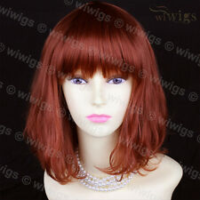 Wiwigs Stile classico rame rosso Pelle Medio Top Donna Parrucca
