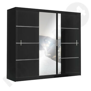 Kleiderschrank schrank vista 250 cm schwebet renschrank - Spiegel schiebetur ...