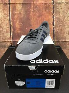 2 scuro Adidas Taglia Grigio blu 191028695962 skateboard Uomo 10 da Da9862 Court Scarpe Nuovo 0 Vl RBqw0tB