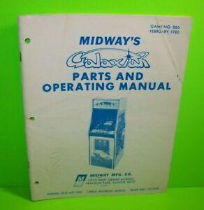 Galaxian-Original-1980-Video-Arcade-Game-Operating-Service-Parts-Manual-Midway