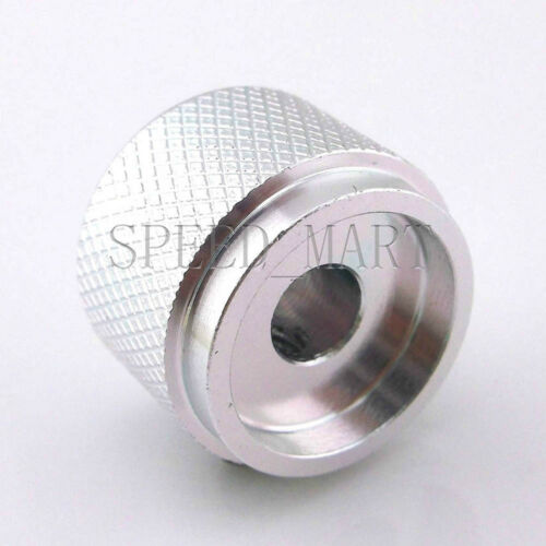 50 PCS High Precision Full Aluminum Knurled Knob ser screw for CD Player White