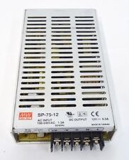 ALIMENTATORE SWITCHING MEAN WELL SP-75-12 75W 5A 7 PIN 12V POWER SUPPLY SP7515