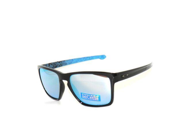 5f6aaf7a34 Oakley 9341-12 Sliver XL Black Deep Water Prizm Polarized Sunglasses Sale