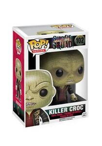 Funko-POP-Movies-Suicide-Squad-Vinyl-Action-Figure-Killer-Croc-102-NIB