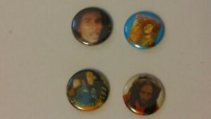 Bob-Marley-reggae-music-buttons-vintage-SMALL-BUTTON-set-3
