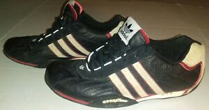 Team Adidas Goodyear Mens 2005 Black Leather / Suede Driving Shoes ...