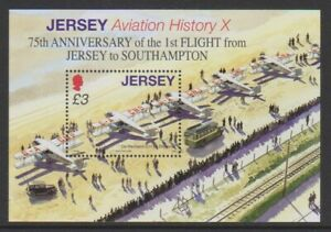 Jersey-2009-Aviation-Histoire-10th-Series-Feuille-MNH-Sg-MS1416