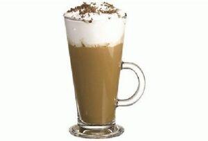 Pasabahce-55163-Teeglas-mit-Henkel-034-Columbian-034-XXL-455ml-4er-Set-Kaffee-Glaeser