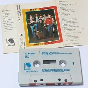 MEAL-TICKET-THREE-TIMES-A-DAY-1977-CASSETTE-TAPE-ALBUM-FOLK-ROCK-POP