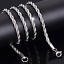 42-74cm-Womens-Mens-Solid-Twist-Rope-Chain-Necklace-Wedding-Engagement-Wholesale thumbnail 9