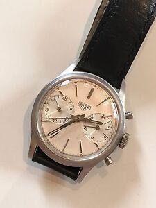 Heuer Chronograph Valjoux 92 Schaltrad Vintage - Deutschland - Heuer Chronograph Valjoux 92 Schaltrad Vintage - Deutschland