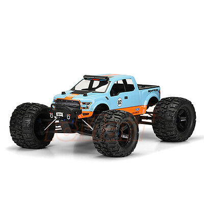 PRO-LINE 2017 Ford F-150 Raptor Monster Truck Clear Body T-Maxx Summit #3468-00