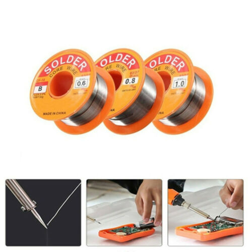 Reel Welding Iron Wire Reel Flux Soldering  Tin Lead Line Rosin Core Solder