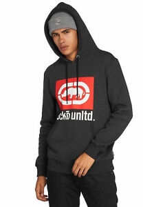 Ecko-Unltd-Sweatshirt-Homme-West-end-Hoody-Black-Noir