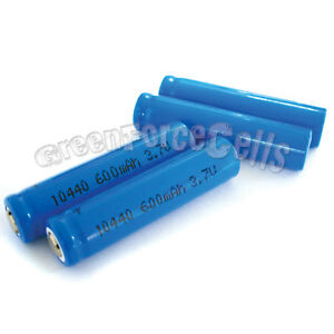 2-pcs-3-7V-10440-AAA-3A-600mAh-Rechargeable-Battery-Cell-US-Stock