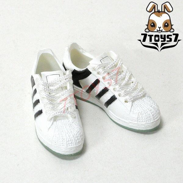 Wild Toys 1/6 Windbreaker_ White Sneaker _Sports Shoes WT017P
