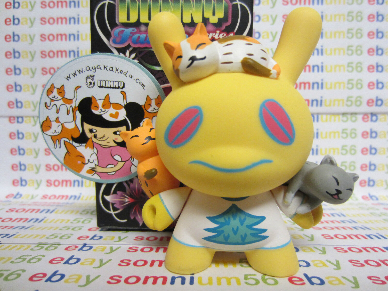 Kidrobot Dunny Fatale Series    Mr. Sunny Patch Aya Kakeda 1/50