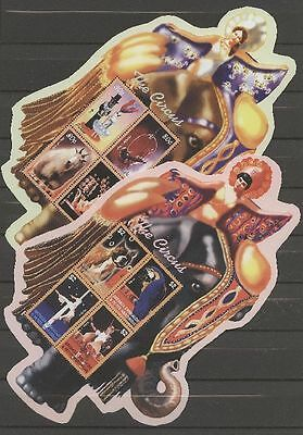 Angemessen Tiere, Animals, Elefant, Zirkus - 7 Bl. ** Mnh 2003