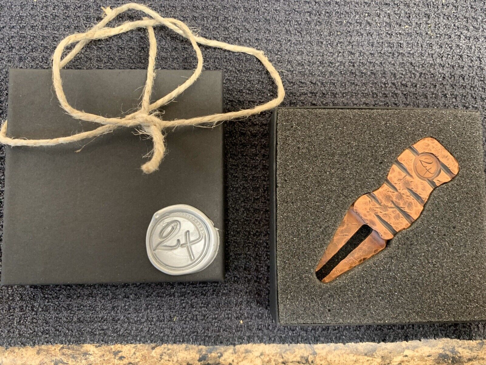 TWO TALENTS - CROOKED COPPER DIVOT TOOL - RARE - Tyson Lamb Swag Scotty C LOOK