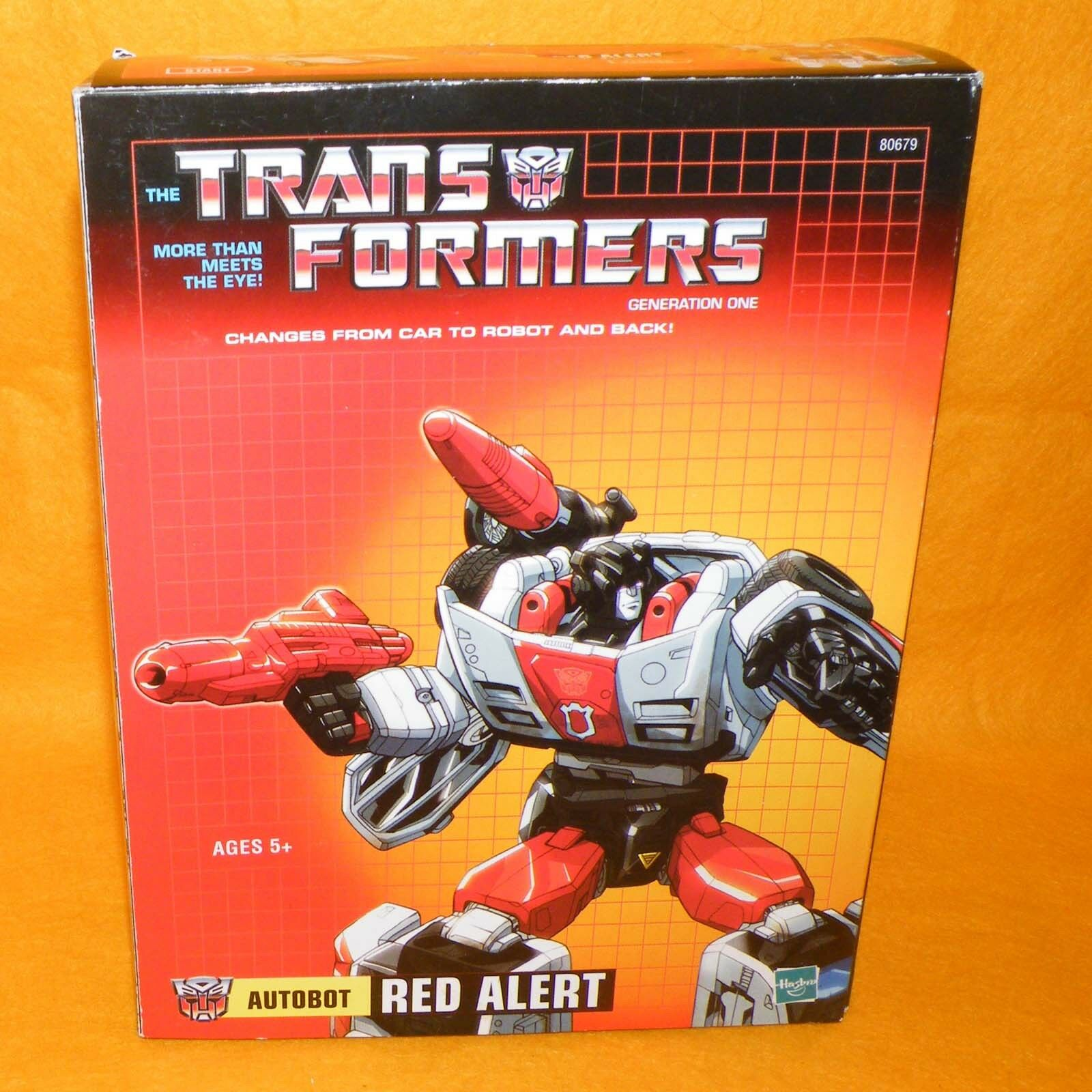 online barato Takara 2005 Transformers Transformers Transformers G1 rojo Alert Reedición En Caja  suministro directo de los fabricantes