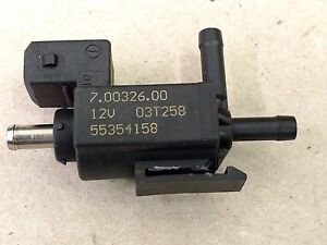Details about 03-11 SAAB 93 9-3 2 0 TURBO AIR VACUUM BYPASS VALVE OEM  55354158 70032600
