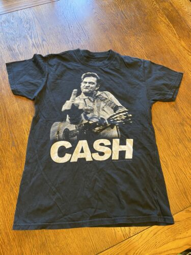 Johnny Cash Graphic Shirt Sz M