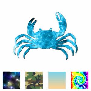 Vinyl Decal Sticker Multiple Patterns /& Sizes ebn3229 Crab