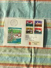 Schweiz, Brief/Beleg Pro Patria FDC Ausgabetag als R-Brief. Kompl. Serie 1976