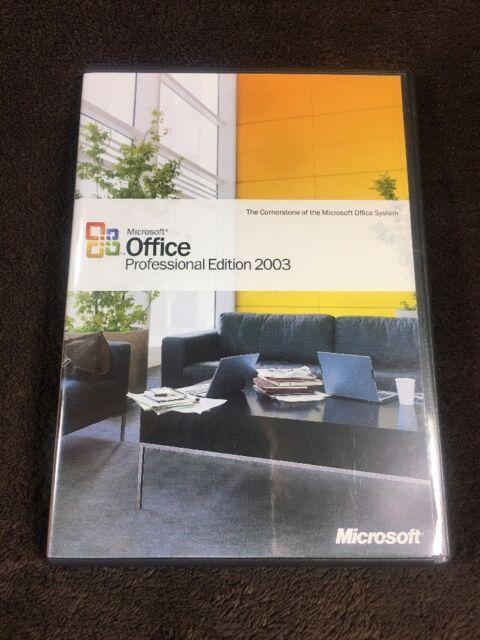 microsoft office professional 2003 product key