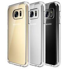 Quirkio Transparent Silicone Rubber Protective Case Cover for Samsung Galaxy S7