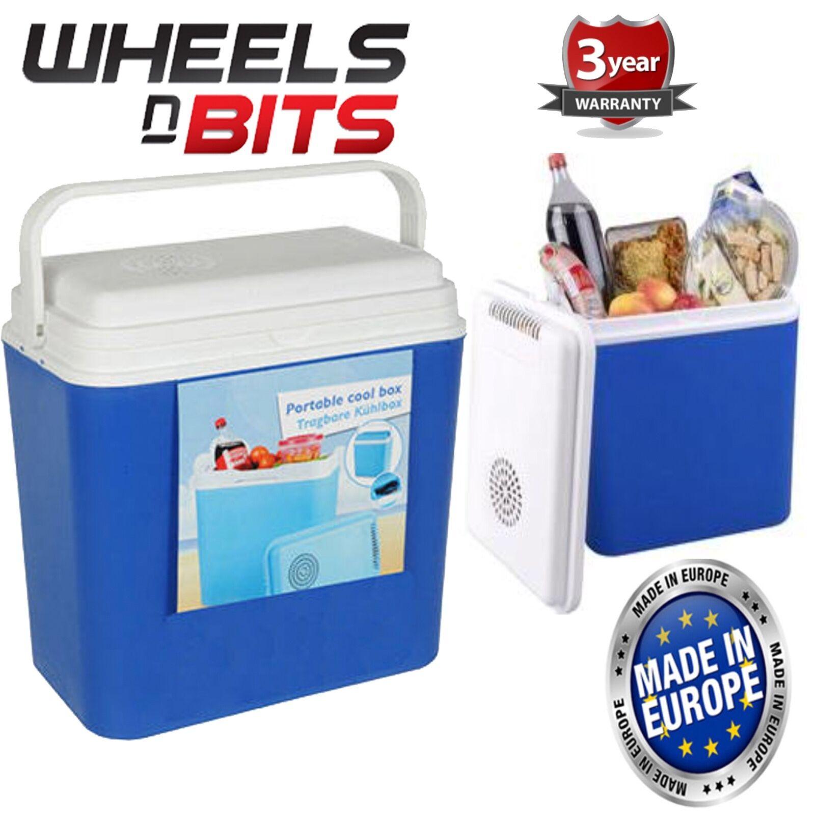Groß 12V Kühlbox 22 Liter Kapazität Tragbar Kühlbox Hochwertig Eu Hergestellt