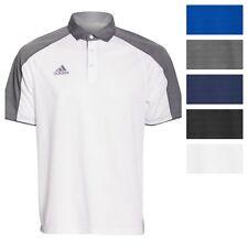 adidas Men's Modern Varsity Short Sleeve Polo Athletic Golf Poly Casual Shirt