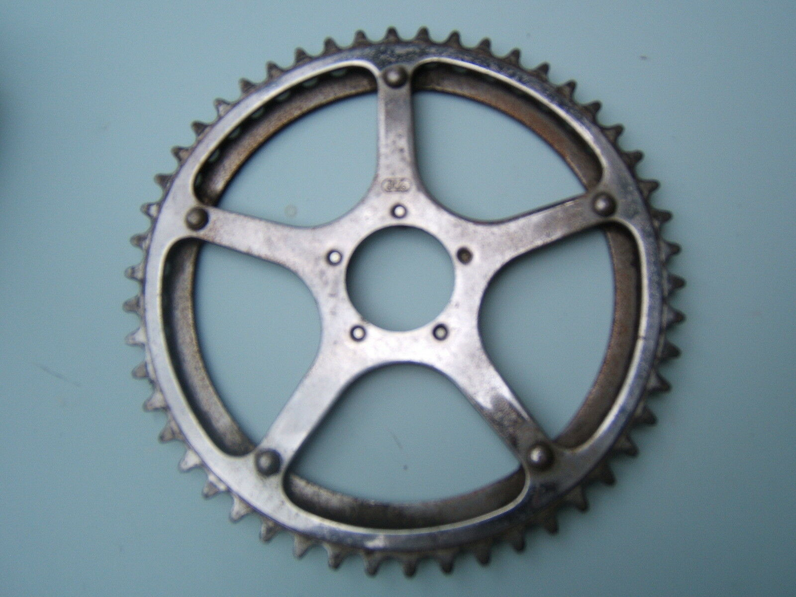 Cyclo chainring  1960's steel made in france  wholesale store
