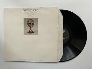 Giacinto Scelsi Paralipomena 1 Trilogia Ko-Tha Vinyl Album Record LP RARE