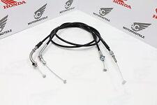 Honda CB CL CJ 360 CB 250G Cable Set A+B Throttle Aftermarket New