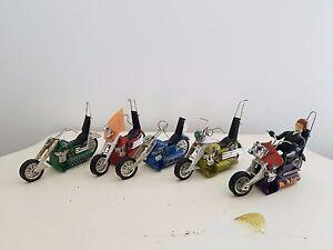 Vintage 1971 Hasbro SCREAM'N DEMONS Daredevil Challenge Track & (5) Motorcycles