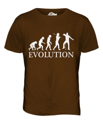 SINGER EVOLUTION OF MAN MENS T-SHIRT TEE TOP GIFT KARAOKE SING